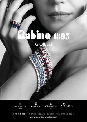 Affissioni gioielleria Rabino Cuneo